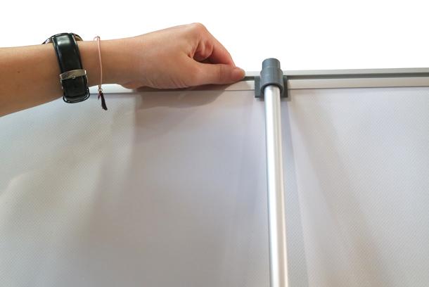 accroche Rollup éco 85x200cm